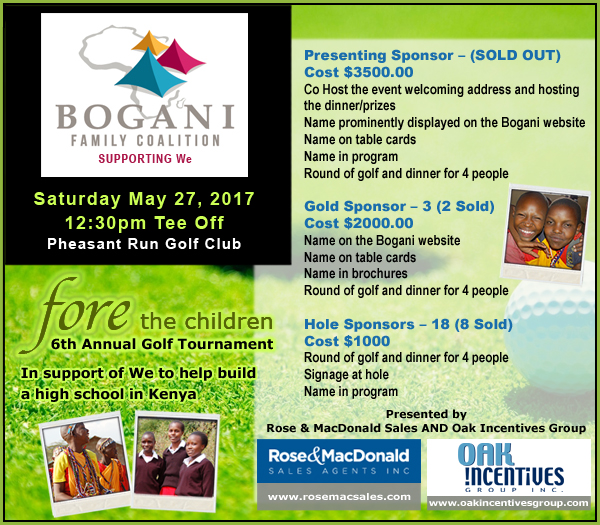 Fore the Children 56th Annual Golf Tournament